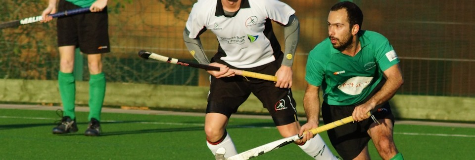 Chesterfield Hockey Club's 1st XI in action